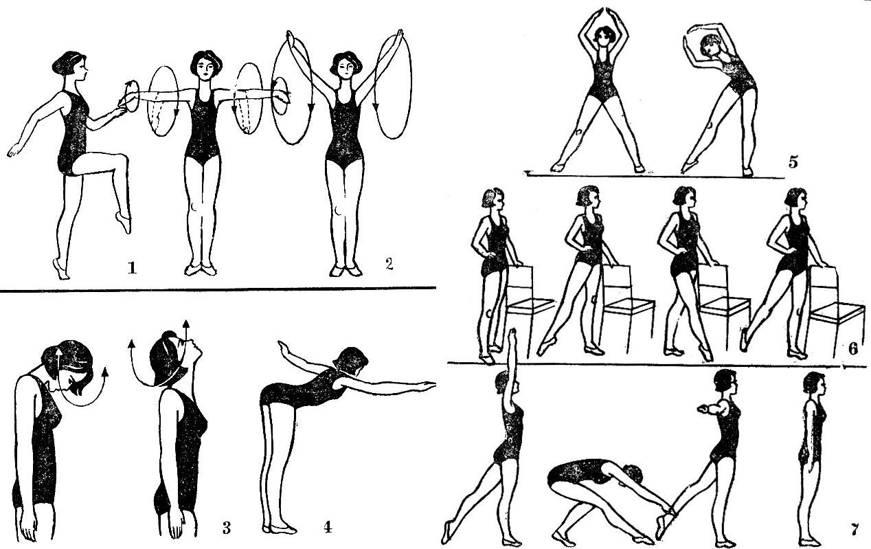 Упражнения фигуры домашних условиях 67